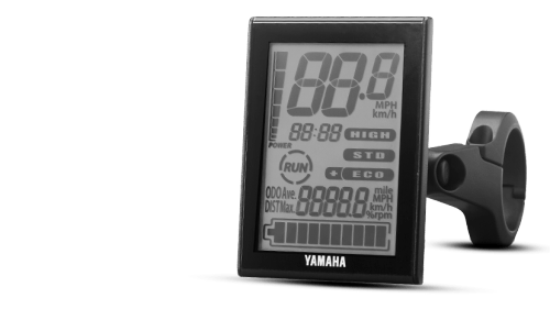Yamaha Multifunction LCD display