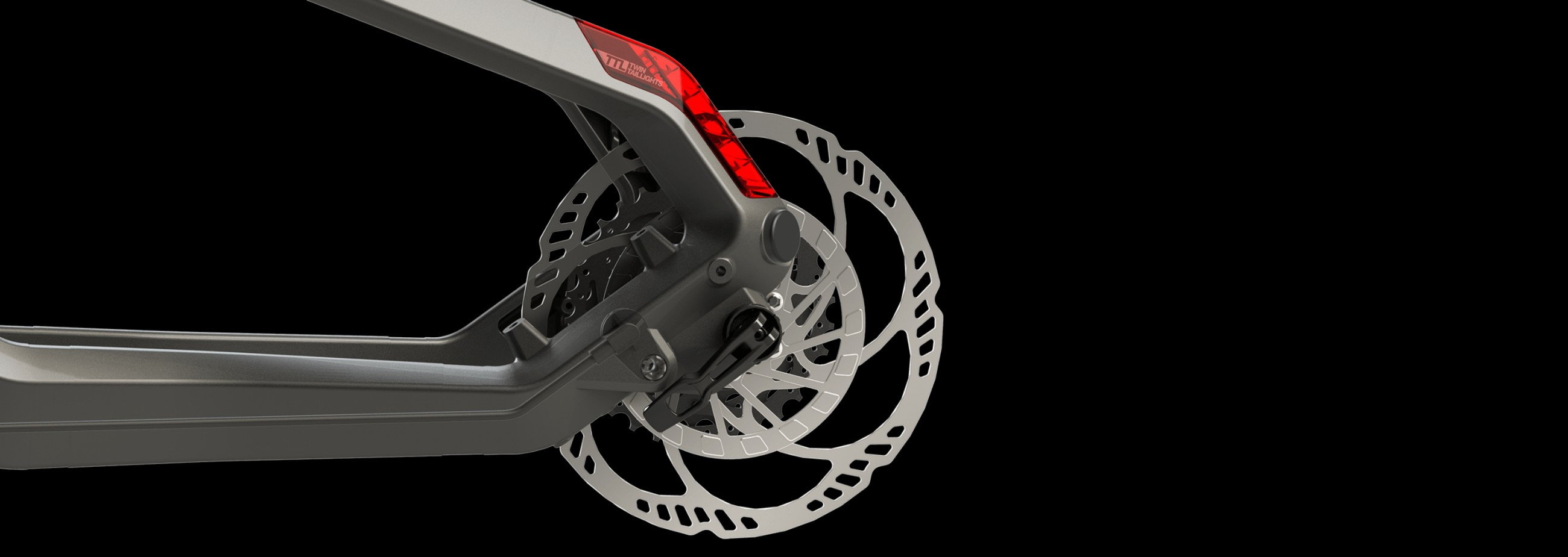 The Haibike speed sensor disc